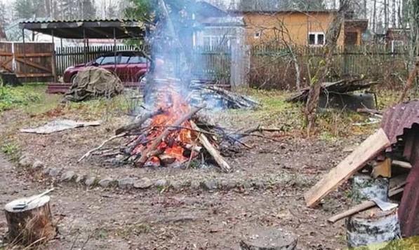 С 1 января 2021 россиянам запретят сжигать мусор и разводить костры на территории частных домов