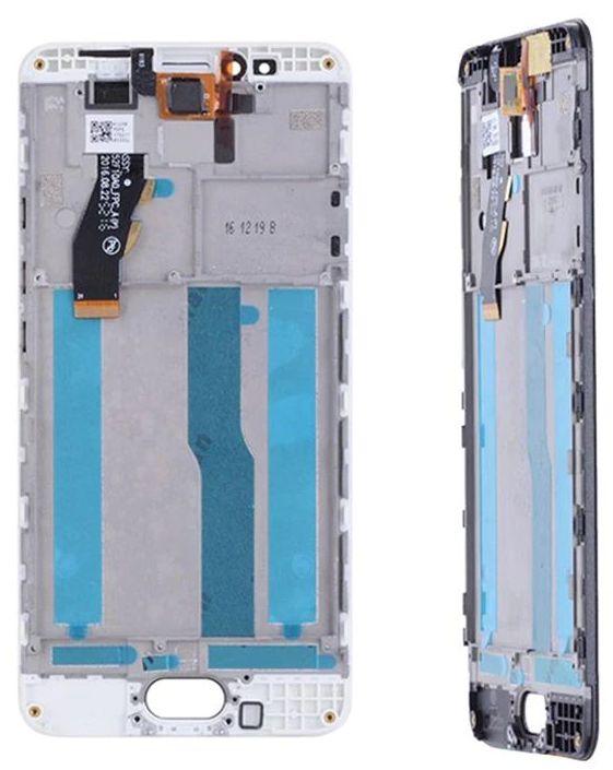 Дисплей для смартфона Meizu M5s в сборе с тачскрином Белый, новый.
