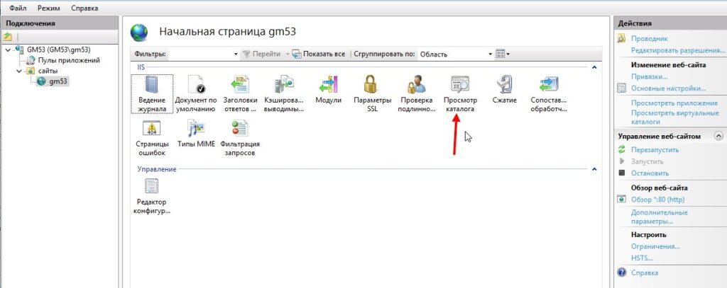 Как настроить iis на windows 10 (свой хост).